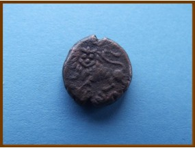 Индия. Майсур. 5 кэш. Кришна раджа Вудеаяр-III 1833-1843 гг.