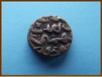 Индия. Бахманийский султанат. 1/3 гани. Ала ал-Дин Ахмад шах-II 1438г.