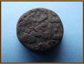 Индия. Бахманийский султанат. 1/2  гани. 1450г.