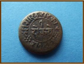 Индия Княжество Джунагадх 1 докдо 1907-1910 гг.