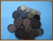 Набор иностранных жетонов 35 шт.